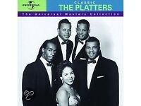 THE PLATTERS THE UNIVERSAL MASTERS COLLECTION CD