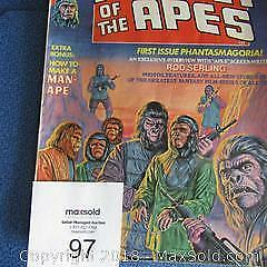 FIRST ISSUE - PLANET OF THE APES, 1974