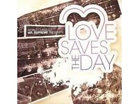 Love Saves The Day weekend admission ticket.