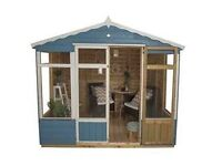 8x6 ft summer house , new and delivered