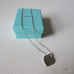 Tiffany & Co Heart Necklace A