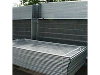 Heras fencing round top heavy duty panels & accessories