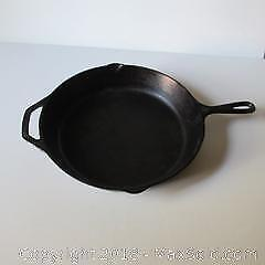 Cast Iron Pan A