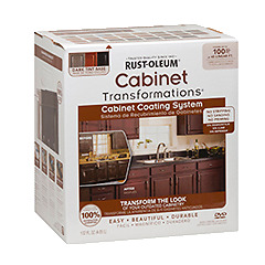 Cabinet refinishing kit - ESPRESSO(Tinted)