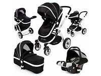 Isafe Pram System 2 In 1