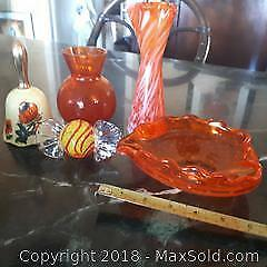 Orange Decorative Lot