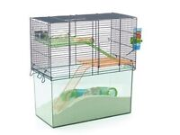 2 gerbils complete with large cage, water bottle and ball