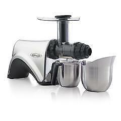 Omega Stainless Steel Masticating Juicer NC900HDSS (FREE SHIPPING)