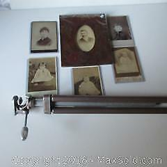 Photos, Pyrography Frame, Tripod A