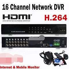 New 16 channel DVR with 3G Phone & Internet VIEWING for CCTV camera systems @R1500 each