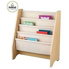 Kidcraft Book Sling / Bookcase - Natural