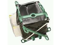 Pond vacuum collection bag. Pond monsta