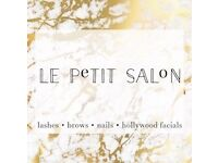 Le Petit Salon: lashes, brows, nails, hollywood facials