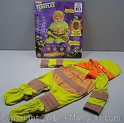 Rubies' Michelangelo Teenage Mutant Ninja Turtle Costume 0 - 6 Months MINT - B