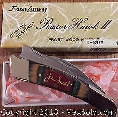 Jim Frost Razor Hawk 2 Pocket Knife