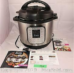 Instant pot, large, newer IP-DUO80 V2 A