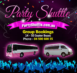 Party Shuttle Pty Ltd - Official Party Shuttle Bus Hire In Sydney