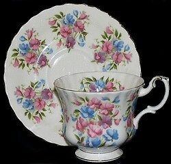 Royal Albert Summertime 'Sweet Pea' Teacup