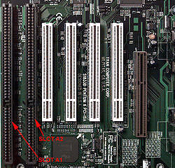 Need Old Computer windows 98 must have ASI slot on motherboard