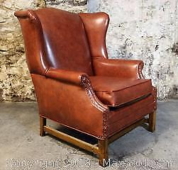 Chippendale Style Wingback Chair