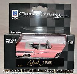 Classic Die-Cast 1958 BUICK CONVERTIBLE - 1/43 scale model