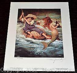 "Jim Daly ""Catch of My Dreams"" limited edition print, s/n"