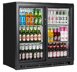 Bottle Coolers - 2 Door (glass) Bottle Cooler For Bars, Pubs , Clubs & Restaurants