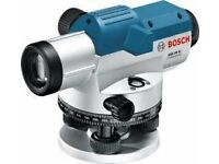 Bosch GOL32DSET Optical Level - Never used