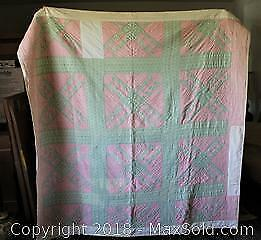 Antique Hand-Crafted Quilt