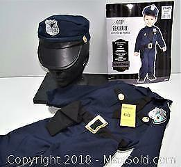 Infant Cop Recruit Halloween Costume Size 12 - 24 Months - B