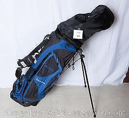Golf clubs w/bag -B