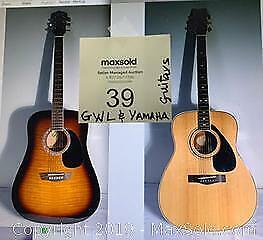 Yamaha and GWL Acoustic Guitars. Come to pickup at Category A