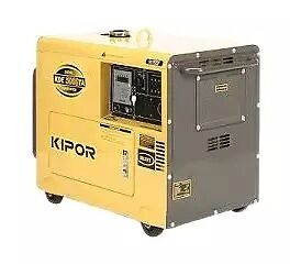 ​ Kipor KDE5000TA Diesel Generator will power the heavy equipmen