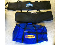 3 x VERY LARGE BAGS - BRAND NEW - STORAGE, LUGGAGE, DJ / BAND EQUIPMENT, SPORTS, SCHOOL, CARRY CASES