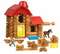 Several sets of Lincoln Logs