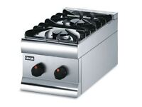 New HT3/N Natural Gas 2 Burner Boiling Top & Stand RRP £882