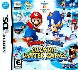 Mario & Sonic at the Olympic Winter Games (Nintendo DS, 2009) CART ONLY