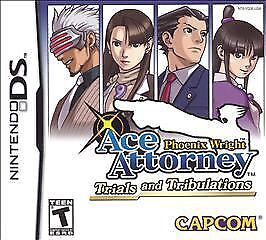 Phoenix Wright: Ace Attorney: Trials And Tribulations ~Nin DS~ BRAND NEW!! SALE! 1
