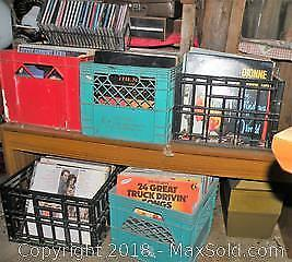 Lot of LPs Records, CDs and Cassettes