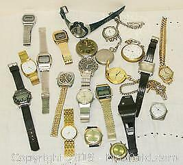 Assorted Men's Watches & Watch Parts