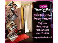 **From £250** Nottingham Photo Booth Hire Christmas Party Wedding Birthday Corporate Prom