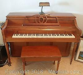 Mason & Risch Piano and Bench