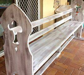 Beautiful Replica Church Pew Tallebudgera Valley Gold Coast South Preview