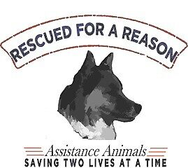 Rescued for a Reason Assistance Animals