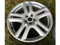 "1 x 18"" Jaguar X-Type / Ford ARUBA Alloy Wheels - With tyres - Fits other vehicles Car Parts Spares"