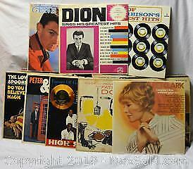 VINYL RECORD ALBUMS 33 1/3 rpm, 60s and 70s collection, over 40 LPs including double albums