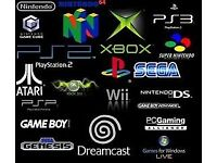 ANY USED GAMES CONSOLES WANTED FOR CASH BY COLLECTOR IN STOCKPORT