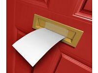 Door to Door Leafleting Distribution - £40 per 1000