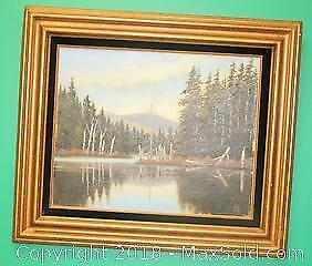 Original Oil Painting on Canvas by Magdalene E. Vahl