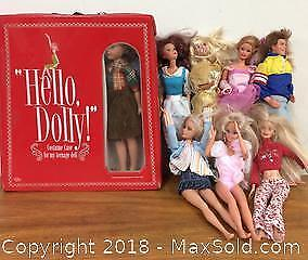 Vintage Hello Dolly & Barbie Lot